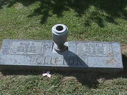 Maud Elizabeth <i>Norman</i> Clifton