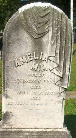Amelia M M Ebur