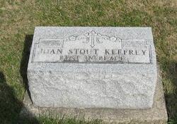Joan M <i>Stout</i> Keefrey