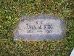 Anna M Annie <i>Mengle</i> Rigg