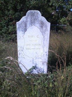 Mary C Harden