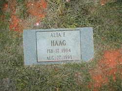 Alta Florence <i>Hagin</i> Haag