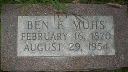 Ben F. Muhs