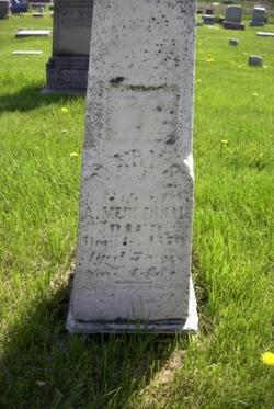 Mary Susannah <i>Knapp</i> Hunt Mendenhall