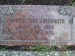 Shirley June Abendroth