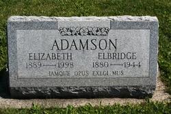 Mary Elizabeth <i>Lance</i> Adamson