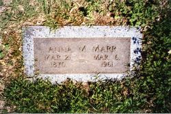 Anna Marie <i>Grubbs</i> Marr