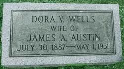Dora V <i>Wells</i> Austin