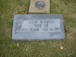 Clay Blevins Yoe, III