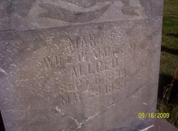 Mary Francis <i>Vance</i> Allred