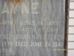 John M Jayne