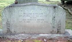 Ada Rebecca <i>Brown</i> Wilson