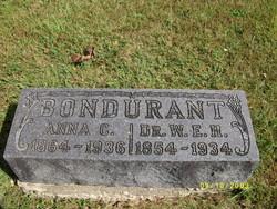 Anna C <i>Collins</i> Bondurant