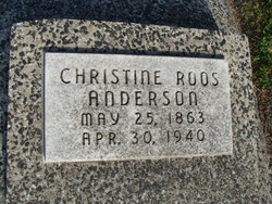Christine <i>Roos</i> Anderson
