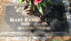 Mary <i>Kanell</i> Allen