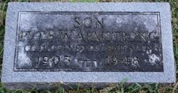 Pvt Robert W. Armstrong