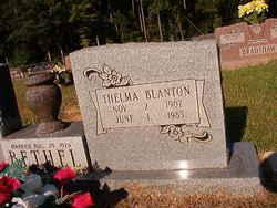 Thelma <i>Blanton</i> Bethel