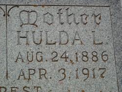 Hulda L <i>Meyer</i> Alsbury