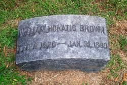 Capt William Horatio Brown