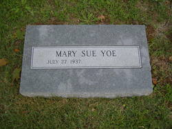 Mary Sue Yoe