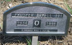 Prosper Armell, III