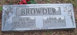 Ira B. Browder