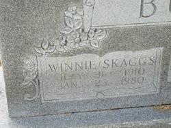 Winnie <i>Skaggs</i> Burks