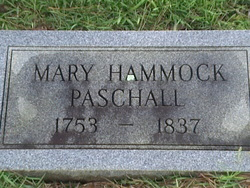 Mary <i>Hammock</i> Paschall