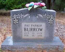 Pat <i>Parker</i> Burrow