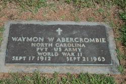 Waymon W Abercrombie