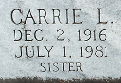 Carrie L. <i>Bailey</i> Braswell