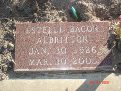 Estelle <i>Bacon</i> Albritton