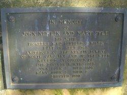 Mary <i>Pyle</i> Newlin