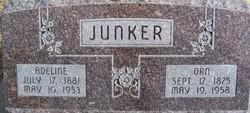Adeline <i>Elgert</i> Junker