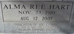 Alma Ree <i>Hart</i> Sledge