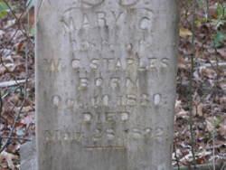Mary Cassandra <i>Drane</i> Staples
