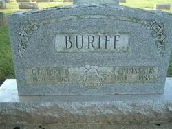 Clarissa K. <i>Lodge</i> Buriff