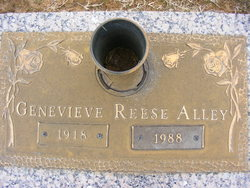 Genevieve <i>Reese</i> Alley