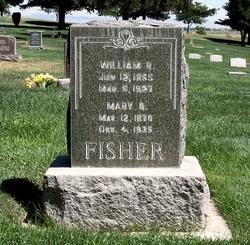 Mary Elizabeth <i>Dotson</i> Fisher