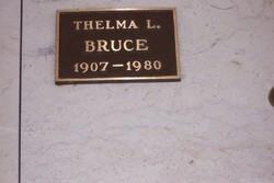 Thelma L <i>Doyle</i> Bruce