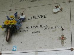 William D LeFevre, Jr