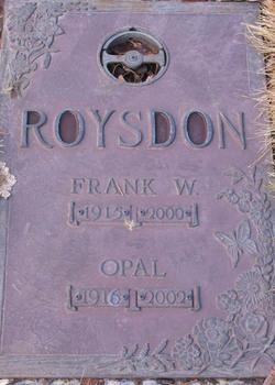 Opal Ines <i>Damron</i> Roysdon