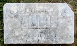 Myrtle O Allen
