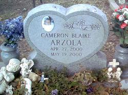 Cameron Blaike Arzola
