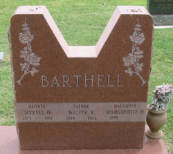 Marguerite H Barthell
