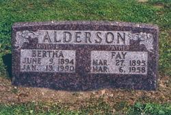 Bertha <i>Grogan</i> Alderson