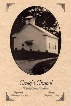 Craigs Chapel Cemetery