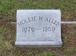 Mollie W Allen