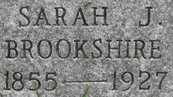 Sarah Jane <i>Sheets</i> Brookshire