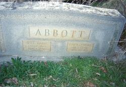Jefferson Davis Abbott, Sr